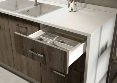 Interni Cucine Cabinets - Sage